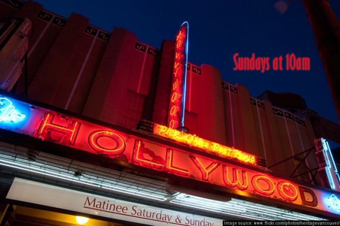 hollywood church sign