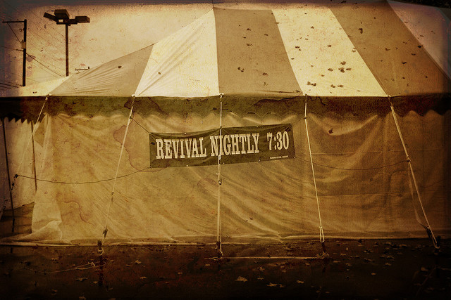 Old-Fashioned Tent Revival