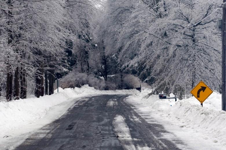 Ice Storm, Kingwood Township- February 2, 2011